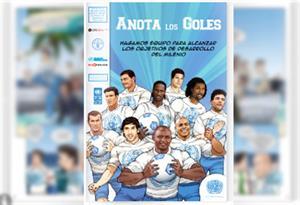 Anota los goles, un cómic sobre los Objetivos del Desarrollo del Milenio