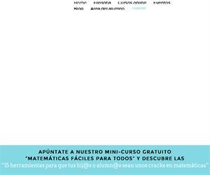 Aprendiendo Matemáticas, recursos educativos de Mates