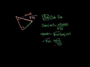 El uso de funciones trigonométricas - parte 2 (Khan Academy Español)