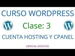 wordpress parte 3 cpanel