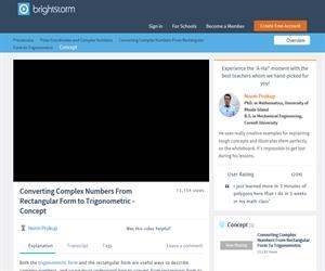 Rectangular Form to Trigonometric Form