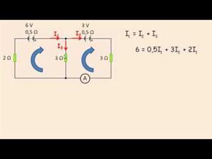 Circuitos eléctricos: Aplicación de las leyes de Kirchhoff. Cibermatex
