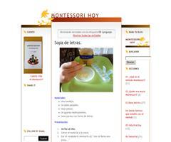 Actividades de lenguaje basadas en el Método Montessori - Blog Montessori hoy