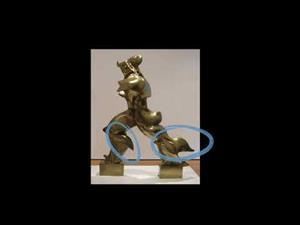 Boccioni: Formas únicas de continuidad en el espacio
