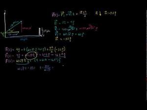 Movimiento de proyectiles usando notación vectorial parte 2 (Khan Academy Español)