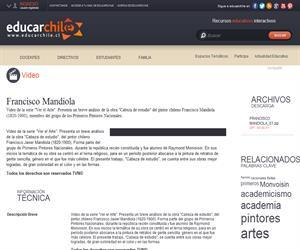 Francisco Mandiola (Educarchile)