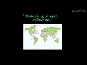 Distribución deAguas Continentales