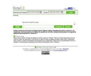 Dicta 2.0, comprueba si escribes correctamente (español e inglés)