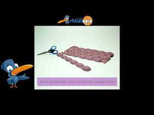 Serpientes de cartón. Manualidades infantiles (Childtopía)