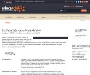 Capítulo 2. Isla Santa Inés y plataformas de hielo (Educarchile)