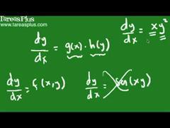 Solución a una ecuación diferencial mediante separación de variables parte 1