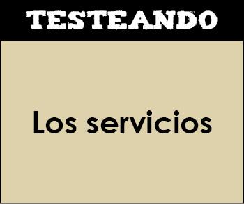 Los servicios. 2º Primaria - Conocimiento del medio (Testeando)