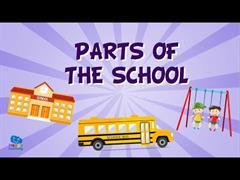 I go to school. Ejercicios interactivos de inglés para Infantil