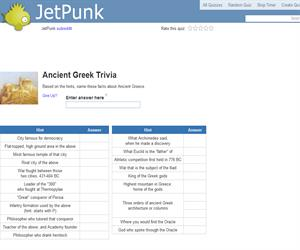 Ancient Greek Trivia