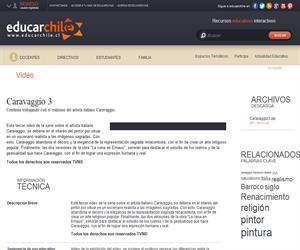 Caravaggio 3 (Educarchile)