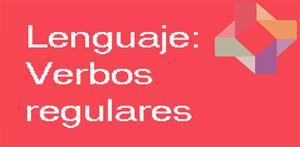 Verbos regulares(PerúEduca)