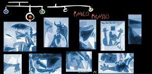 """Puzzle interactivo  del Guernica de Pablo Picasso. """"Emula al genio"""" (El Mundo)"""