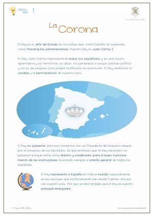 Organización del Estado: la Corona