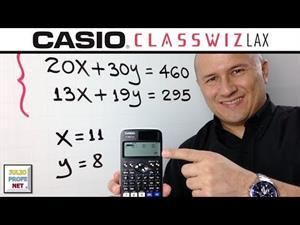 Problema con sistemas de ecuaciones lineales 2x2 (julioprofe)