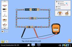 Kit de construction de circuit: CC - Labo virtuel