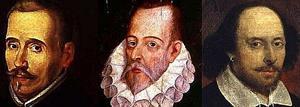 Shakespeare, Cervantes y Lope. Escenas cervantinas por Ernesto Filardi