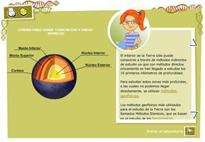 Terremotos y ondas sísmicas. Biología y Geología para 3º ciclo de Primaria