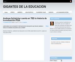 Andreas Schleicher cuenta en TED la historia de la evaluación PISA | Gigantes de la Educación
