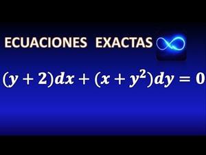 41. Ecuación diferencial exacta resuelta en 3 pasos (Ejercicio resuelto)
