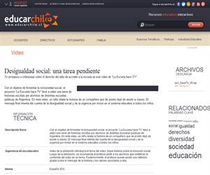 Argentina. Hace TV 5 (Educarchile)