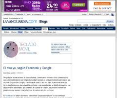 El 'otro yo' según Facebook y Google
