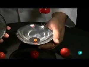Juegos de espejos. Experimento para crear efectos ópticos