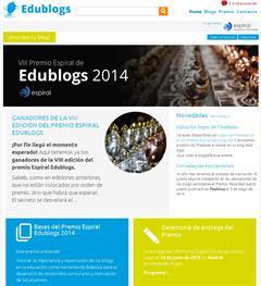 El premio Espiral Edublogs en la plataforma GNOSS