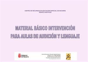 Material de intervención para aulas de Audición y Lenguaje (Creena)