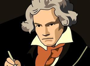 Ludwig van Beethoven (esp.brainpop.com)