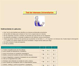Test de Intereses Universitarios
