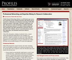Professional Networking and Expertise Mining for Research Collaboration