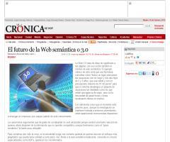 Next web: El futuro de la Web semántica o 3.0 (cronica.com.mx)