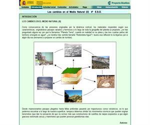 Los cambios en el medio natural II (Proyecto Biosfera)