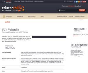 UCV Valparaíso (Educarchile)
