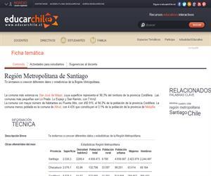 RM Estadísticas (Educarchile)