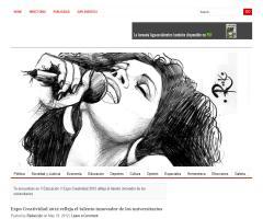 Expo Creatividad 2012 refleja el talento innovador de los universitarios
