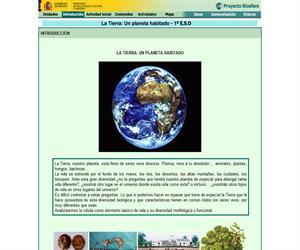 La Tierra: un planeta habitado (Proyecto Biosfera)