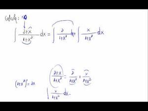 Integral muy sencilla de tipo arctan + logaritmo