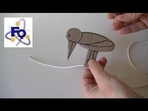 Experimento de Física: El pájaro carpintero
