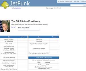 The Bill Clinton Presidency