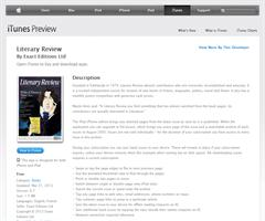 Literary Review para iPhone, iPod touch y iPad.