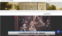 La innovación digital del Prado destaca en el informativo vespertino de TVE con motivo del 200 aniversario del museo