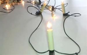 Conexión en serie.  Experimento de electricidad para niños de 8 a 12 años