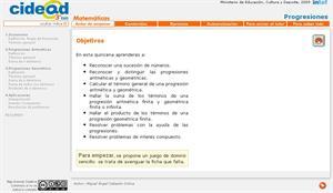Progresiones (cidead)