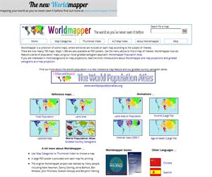 Worldmappwer: mapas políticos, geográficos y demográficos